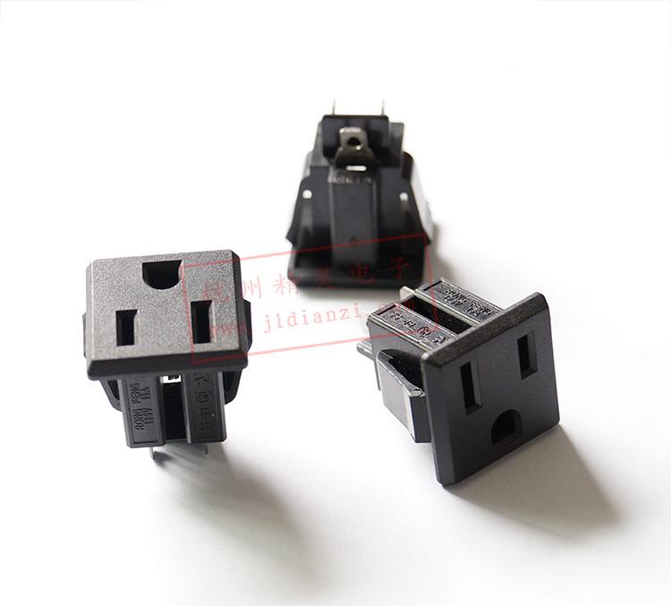 美式三脚插座接线图